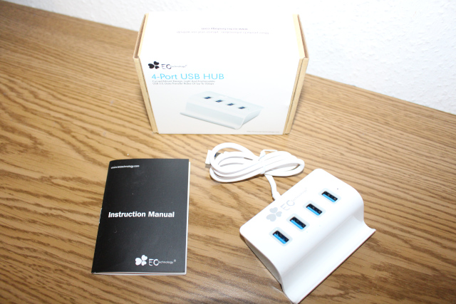 Im Test der EC Technology® SuperSpeed USB 3.0 4 Ports USB Hub